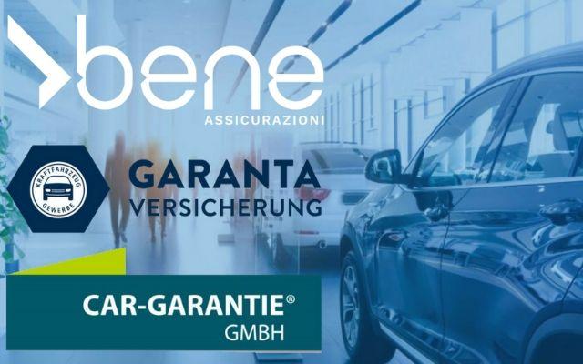 Nuova partnership commerciale tra: Bene Assicurazioni, Garanta e CarGarantie