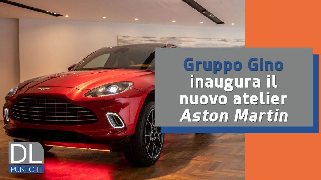 Aston Martin: a Milano un nuovo showroom che sa di atelier