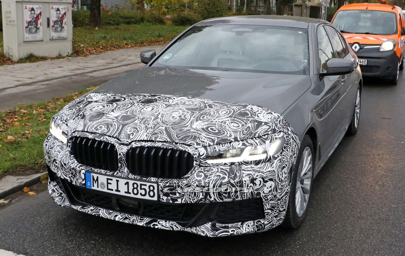 Nuova BMW Serie5 mild hybrid
