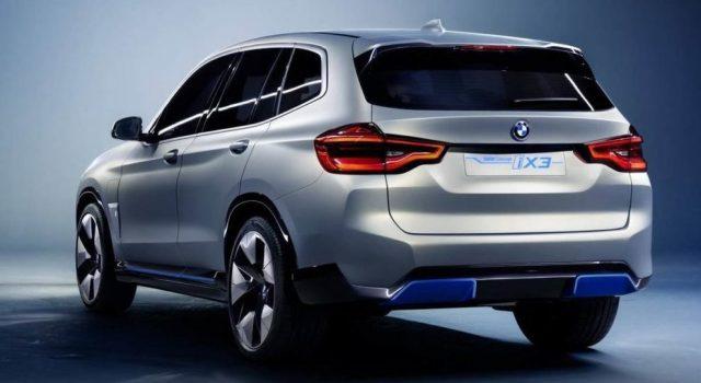 Novità elettriche 2020: BMW iX3