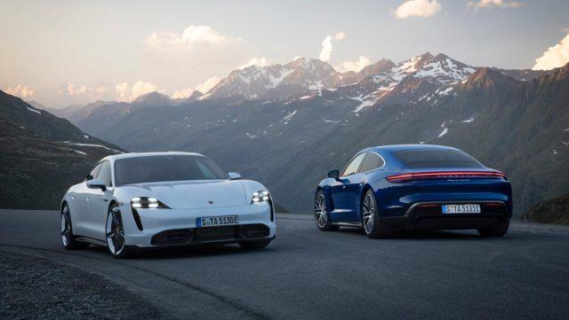 Novità elettriche 2020: Porsche Taycan elettrica