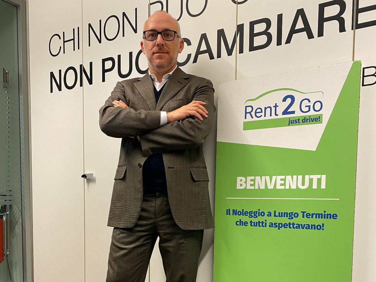 Andrea Carbutti general manager Rent2go