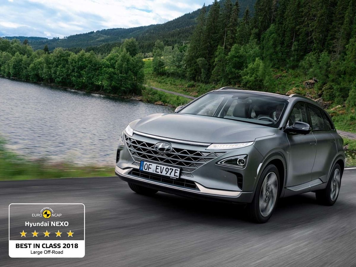 Hyundai NEXO è stata premiata come Best in Class 2018 per la categoria Suv di grandi dimensioni