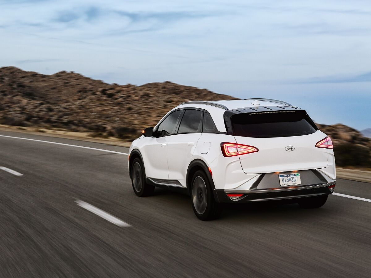Le emissioni di Hyundai NEXO sono costituite solo da vapore acqueo