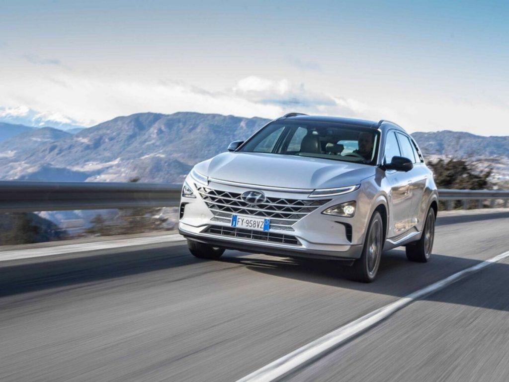 Hyundai NEXO Fuel Cell: 10 nuove auto in Alto Adige