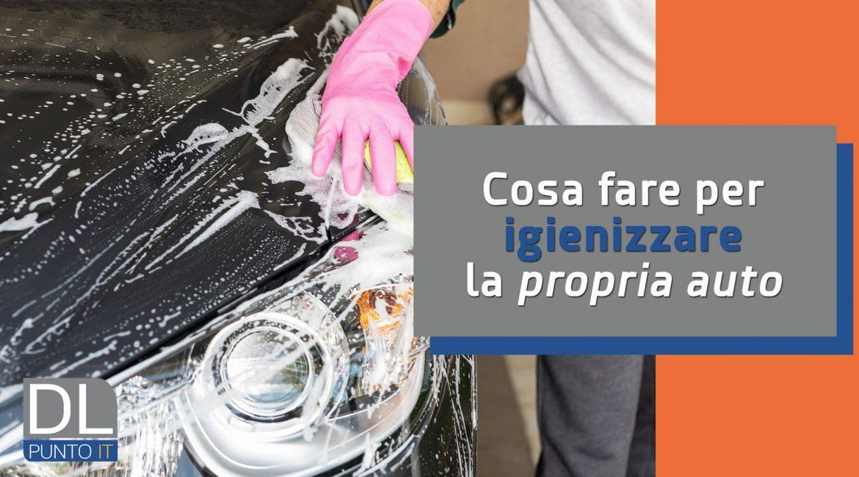 Come igienizzare l'auto (Tutorial DIY)