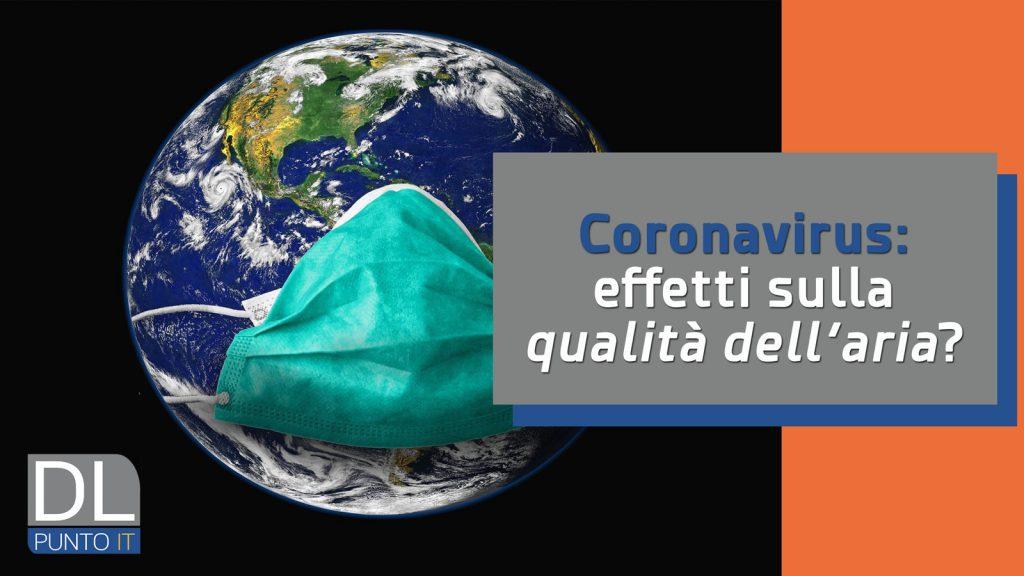 Coronavirus: gli effetti della quarantena sull'inquinamento