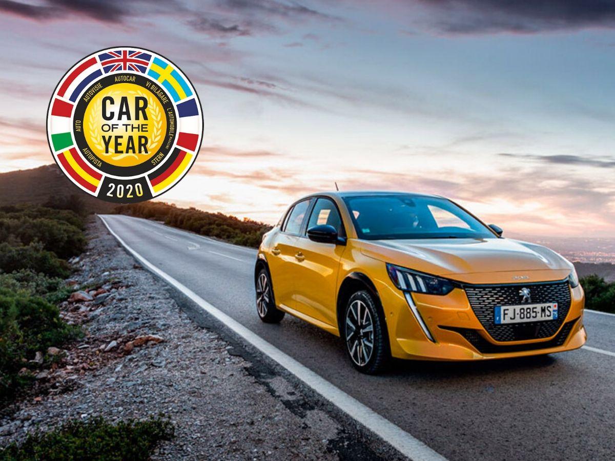 Peugeot 208 è stata premiata Car of the Year 2020