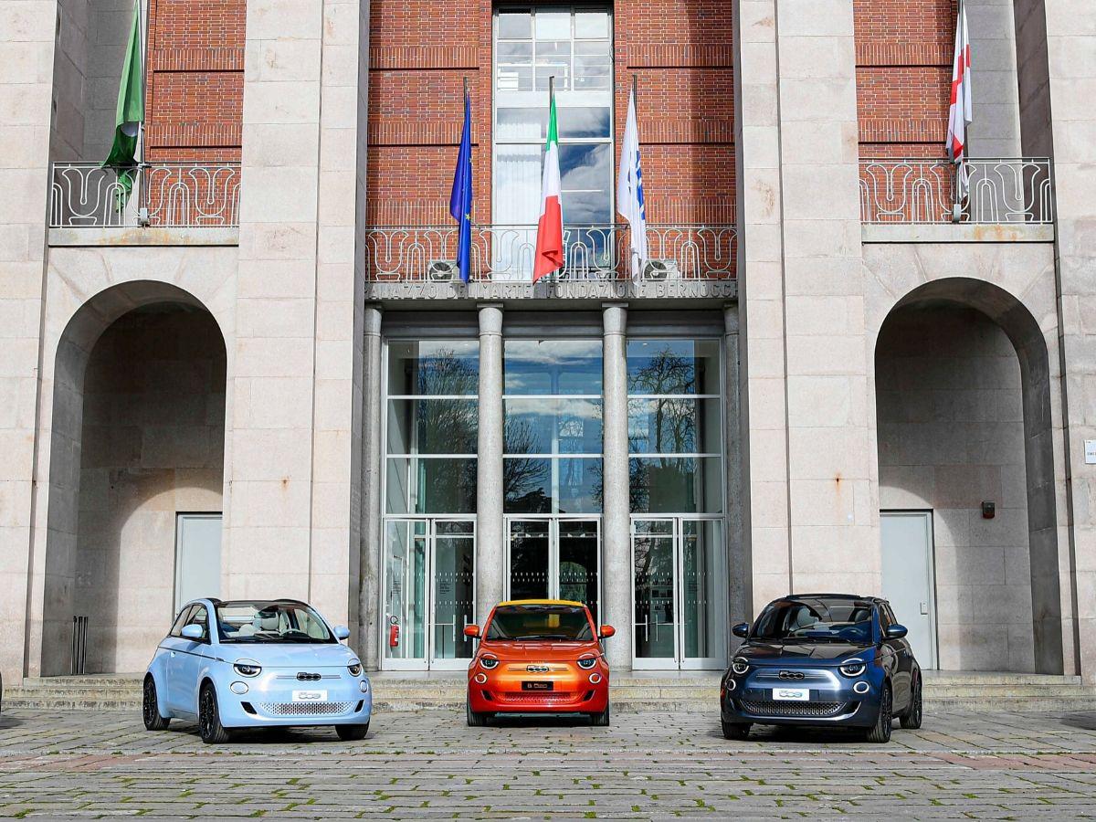 Presentazione di Fiat 500 La Prima