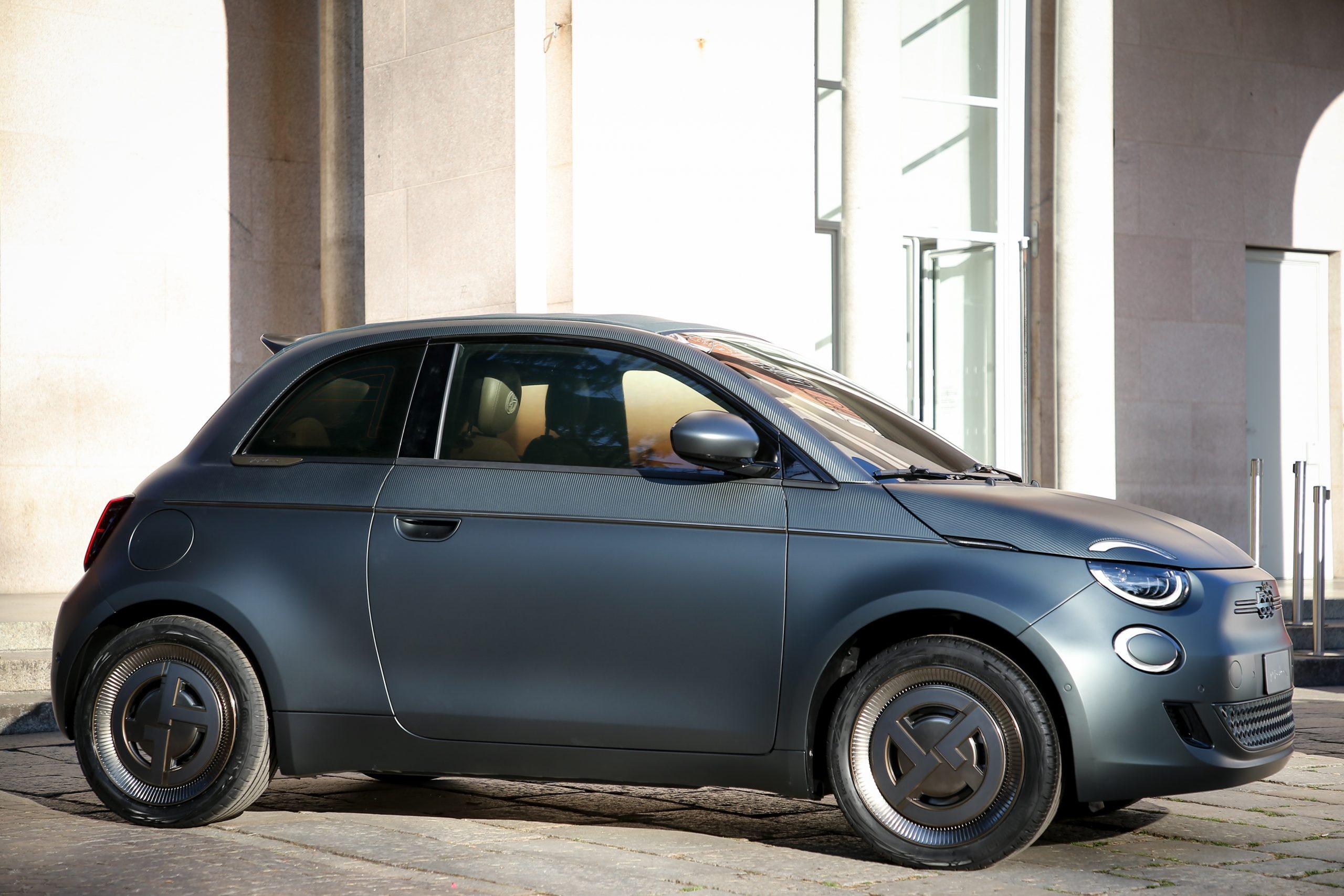 La Prima Fiat 500 elettrica, firmata Giorgio Armani
