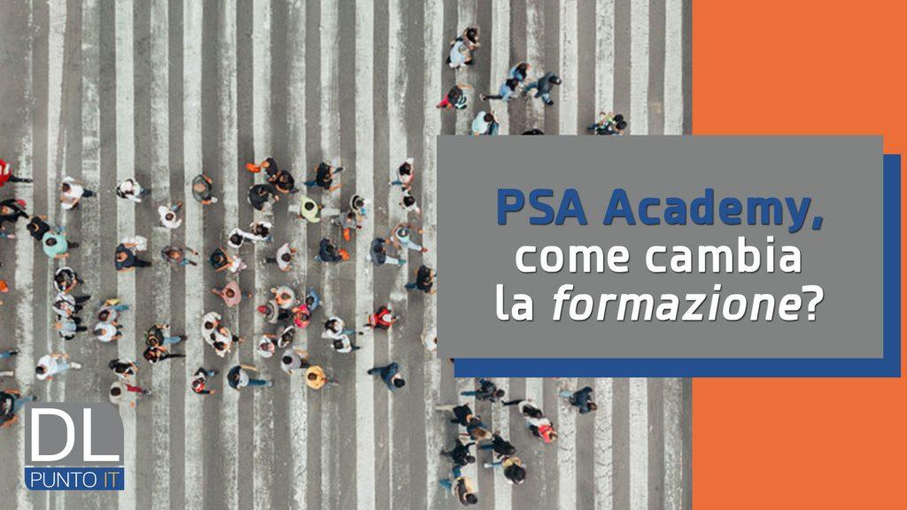 PSA Academy: la formazione guarda al futuro