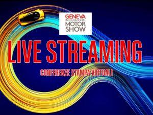 Salone di Ginevra 2020: la presentazione delle Conferenze in diretta streaming