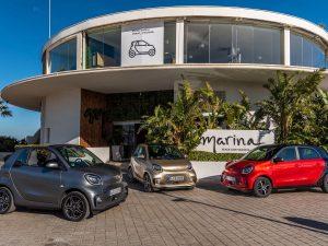 Gamma smart di auto elettriche