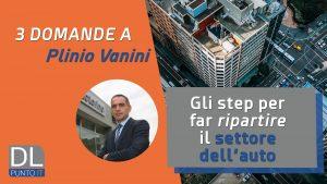 Plinio Vanini strategie ripartenza concessionari