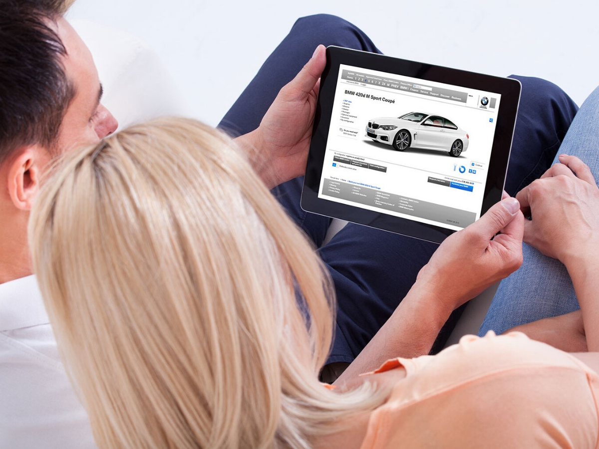 acquistare un'auto nuova online!