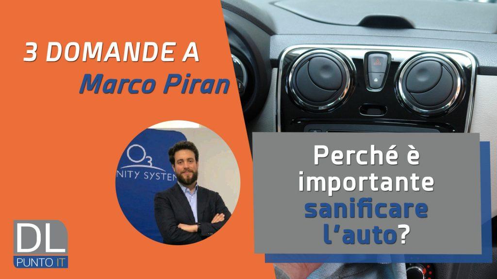 Come effettuare la sanificazione dell'auto?