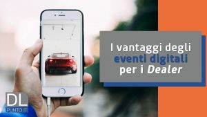 Come si organizza un evento digitale in concessionaria?