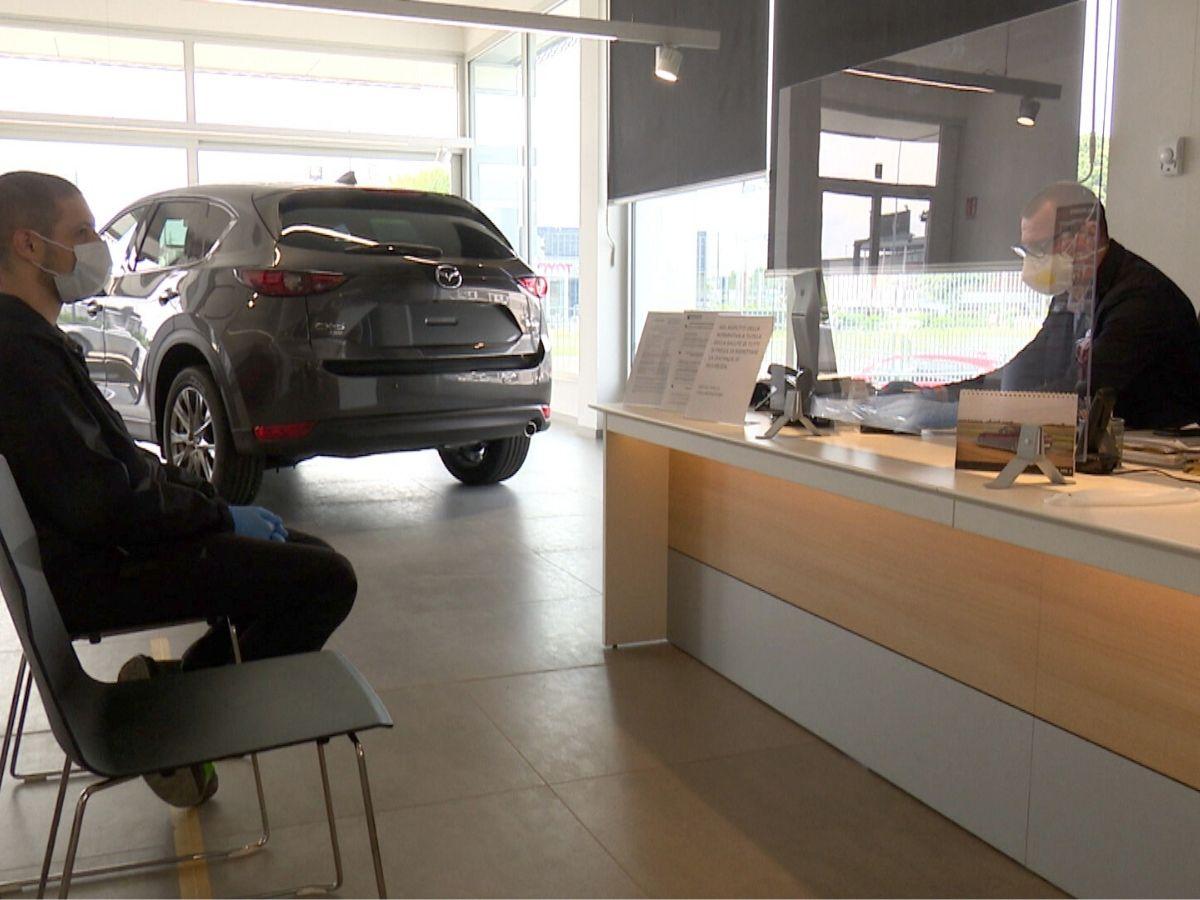 La sicurezza nelle concessionarie Mazda
