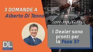 3 Domande ad Alberto di Tanno: videointervista