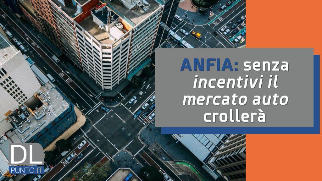 Incentivi al settore auto: la posizione di Anfia