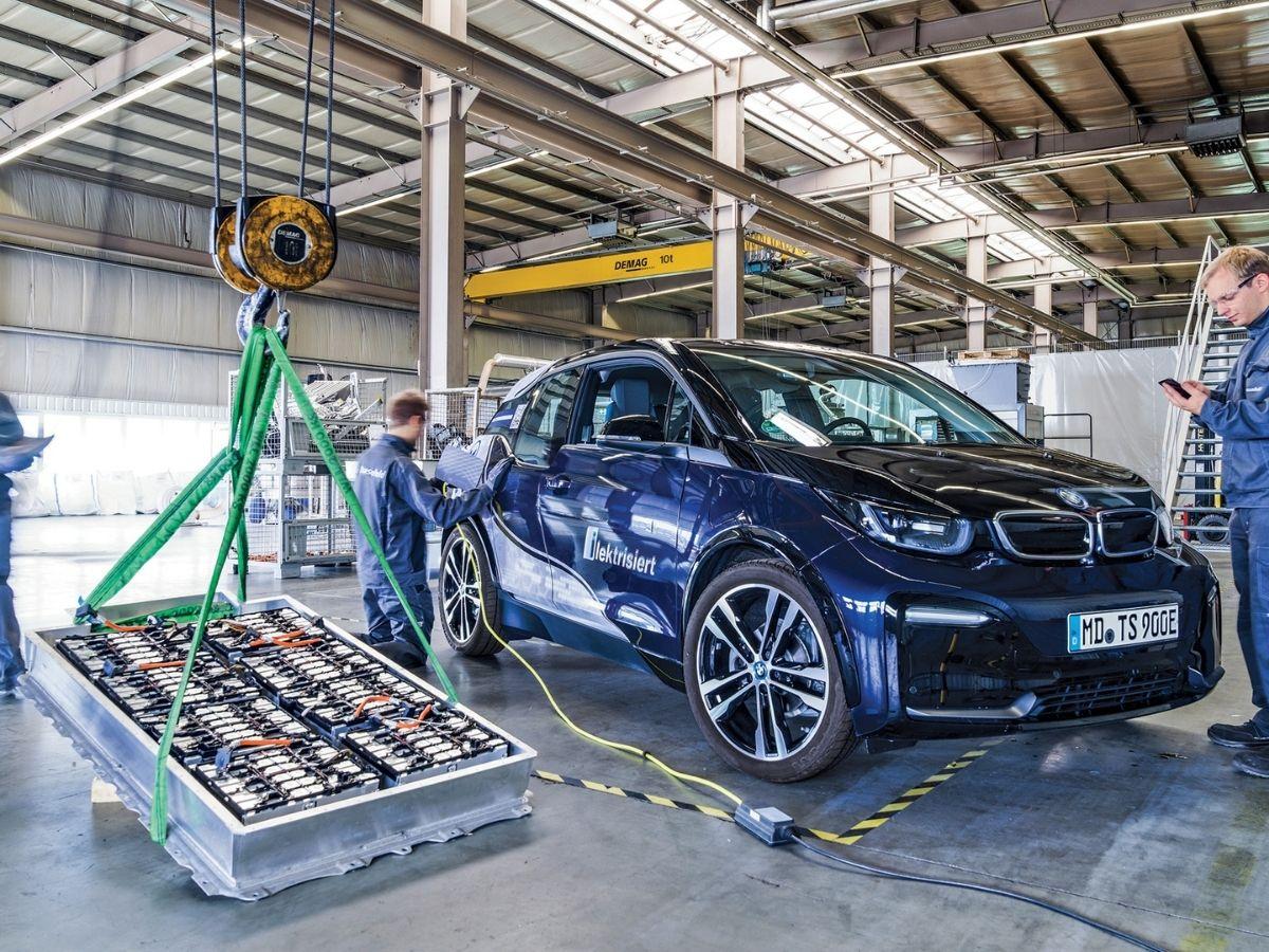riciclo batterie auto elettriche