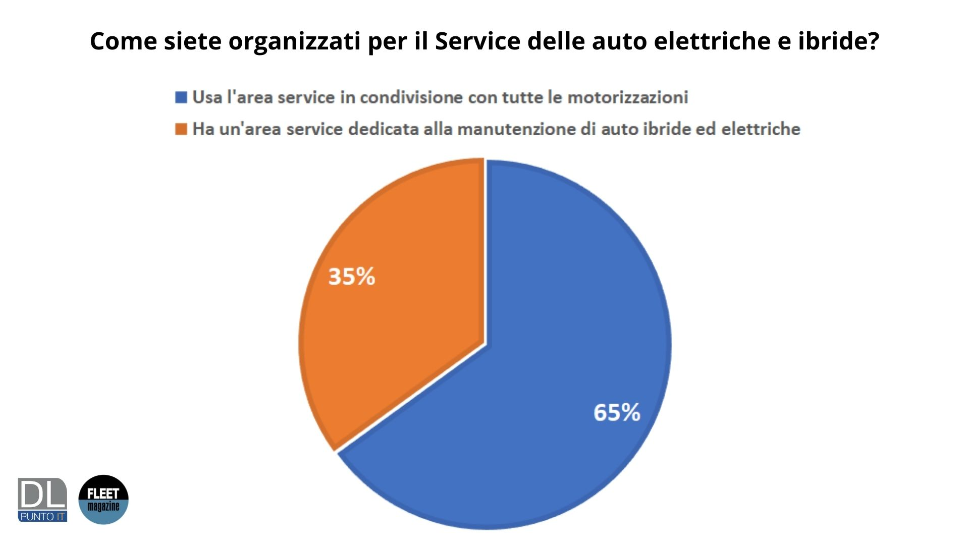 organizzazione Service auto elettriche e ibride