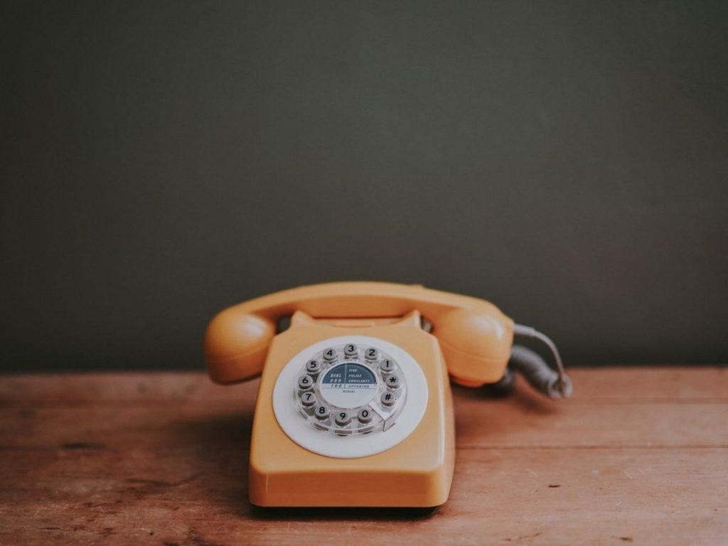 Grazie per aver chiamato, perché il telefono è ancora importante per i dealer