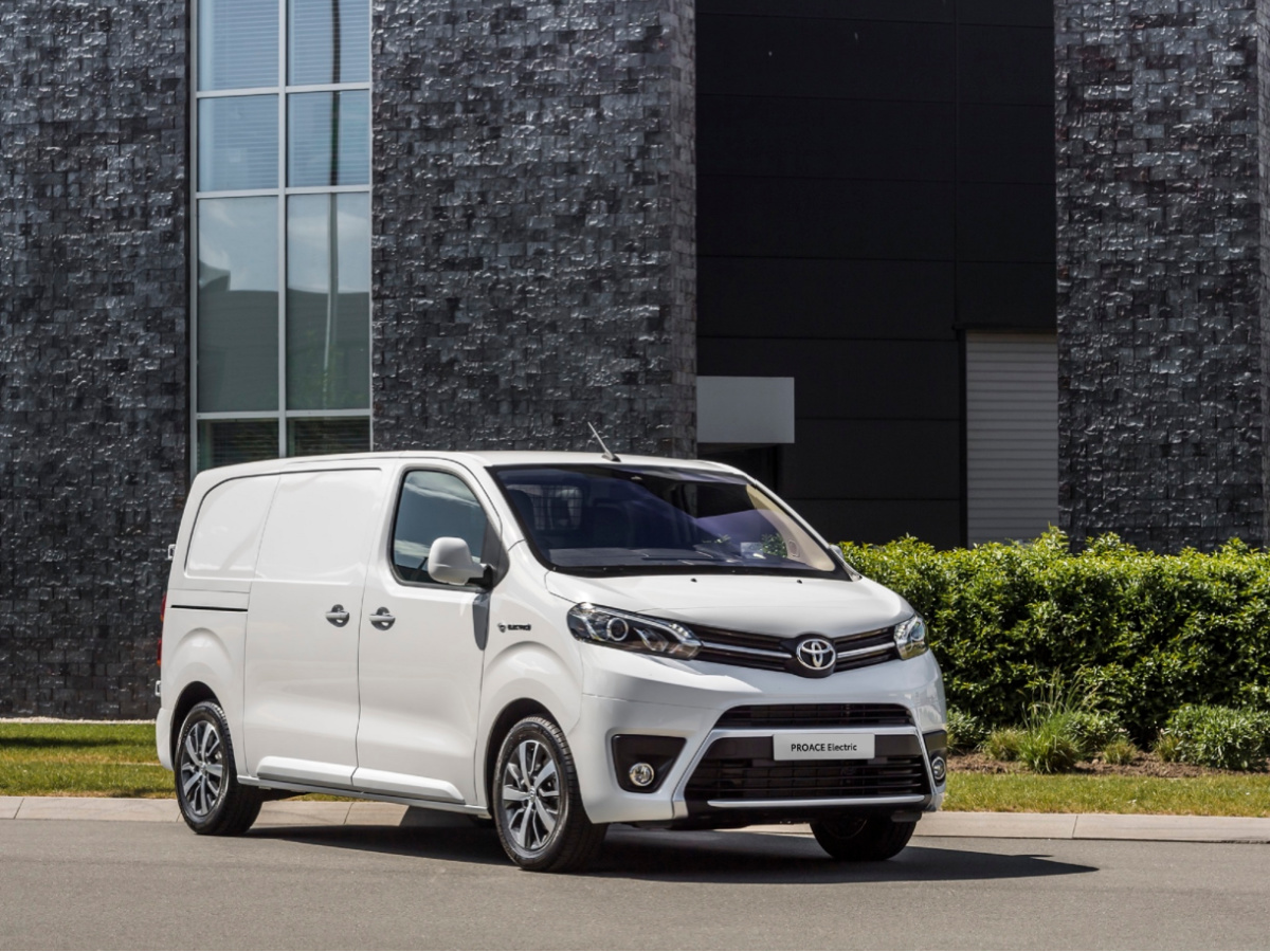 Toyota Professional nuovo Toyota Proace Electric