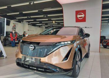 Nissan Ariya: debutto alla Renord di Sesto San Giovanni (Milano)