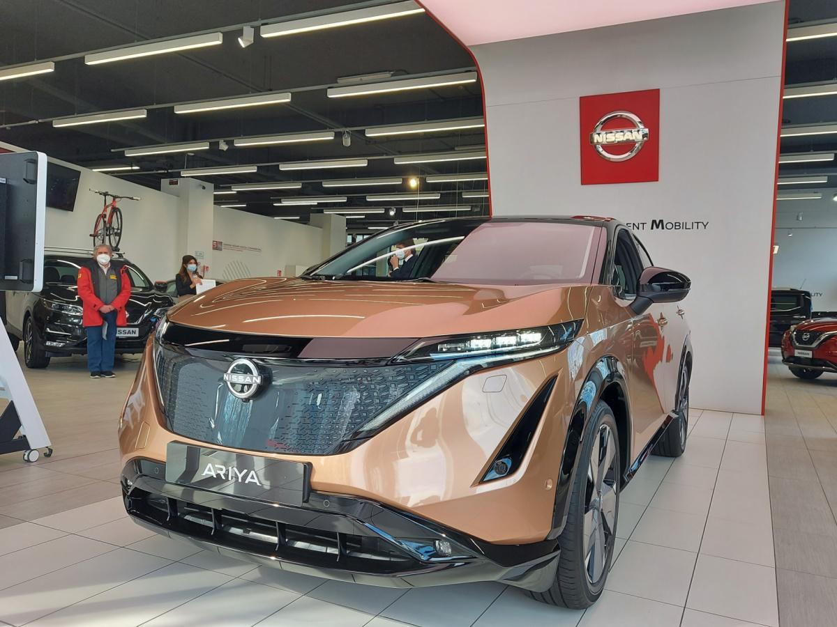 Anteprima nuova Nissan Ariya