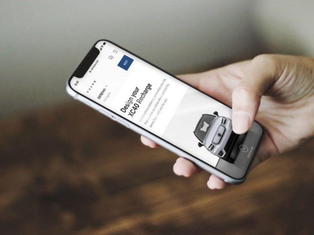 Le Volvo elettriche si acquistano solo online
