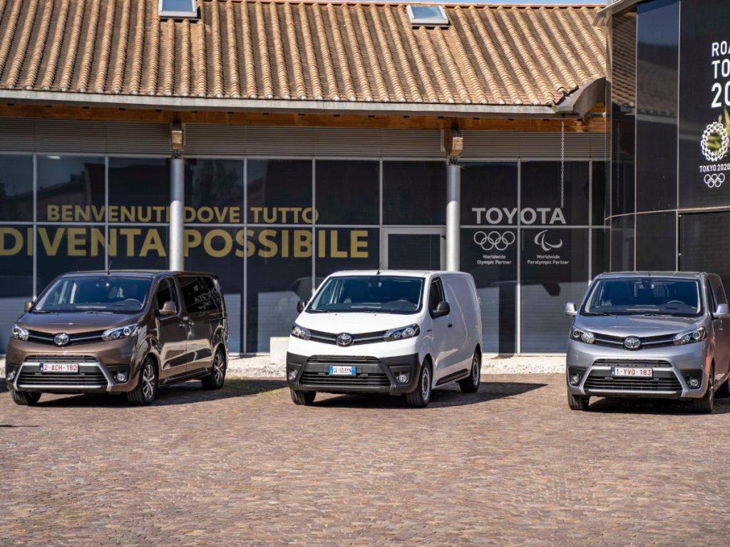 Toyota Professional: cresce la rete specializzata sui veicoli commerciali