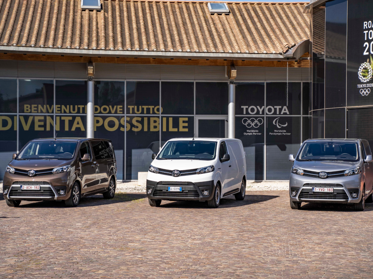 Toyota Professional strategie 2021