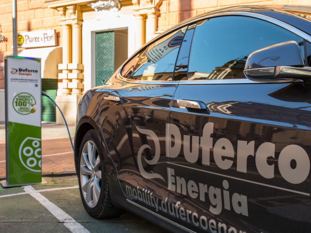 Duferco Energia: sempre più ricarica in concessionaria