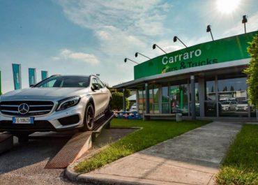 A Nervesa, la più grande cittadella delle auto usate